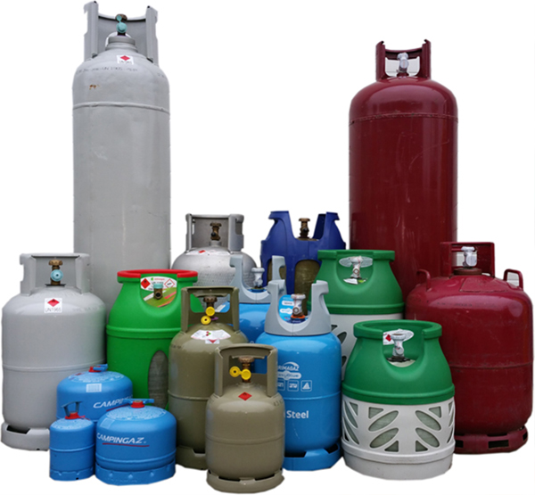 Zeer Campinggas, propaangas en butaangas - Bakkergas KX68